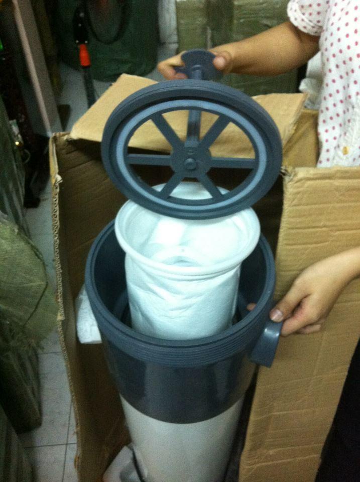 Bình lọc chất lỏng dùng túi công nghiệp đông châu